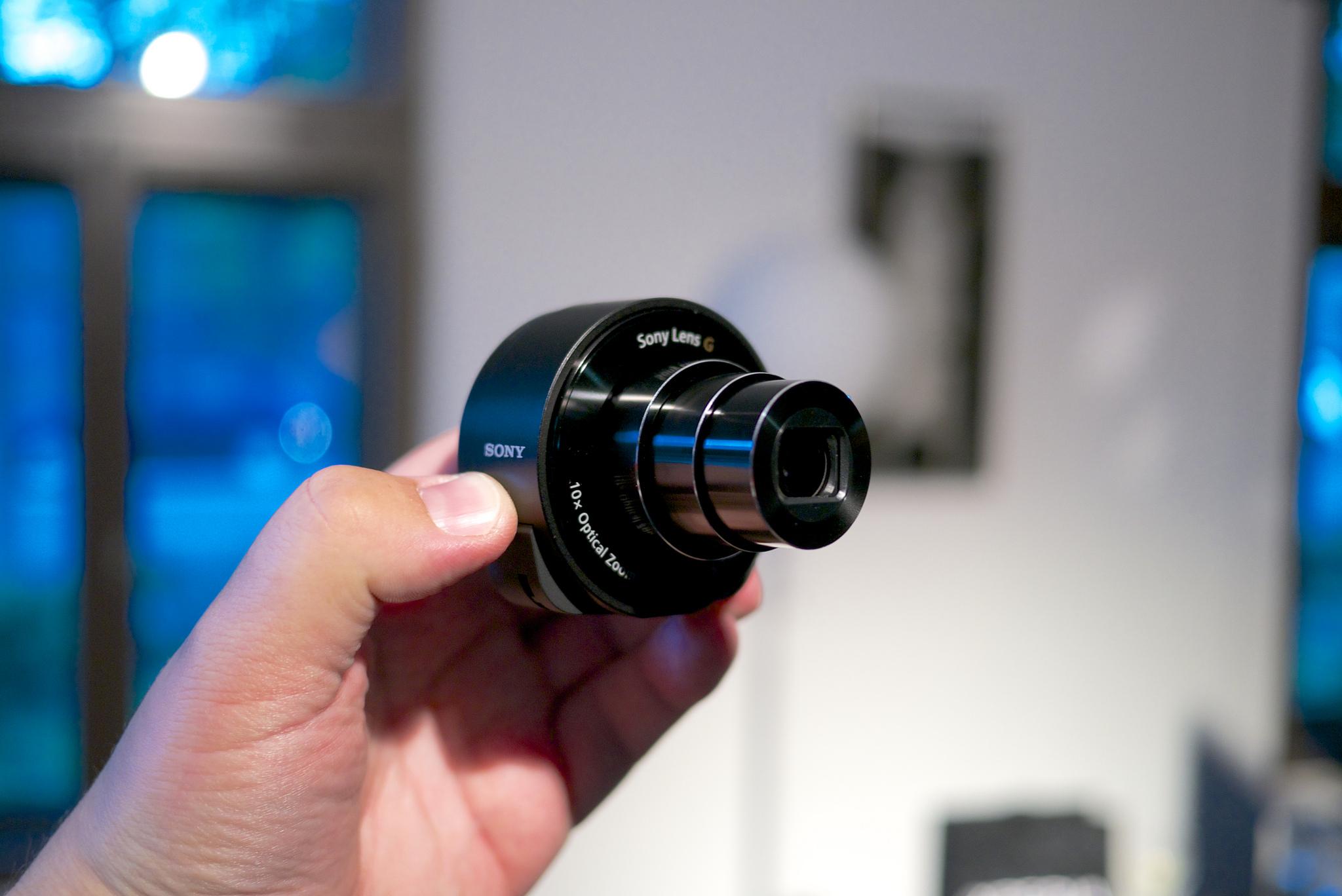 Zu sehen ist eine WiFi-Kamera für Smartphones.