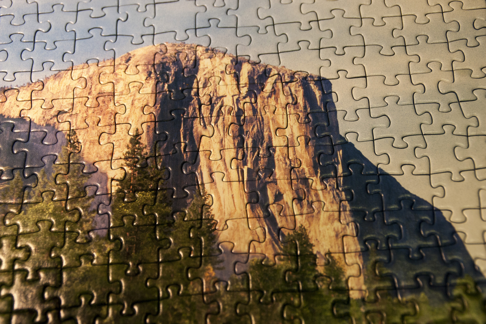 Foto-Puzzle vom Yosemite Nationalpark