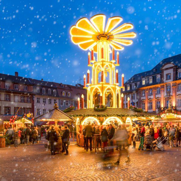 Weihnachtsmarkt-Panorama